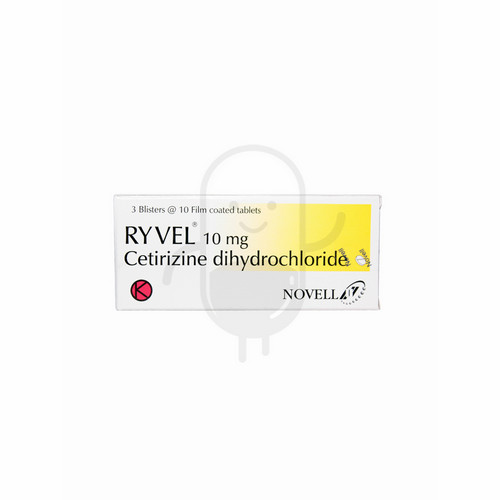 RYVEL 10 MG TABLET BOX